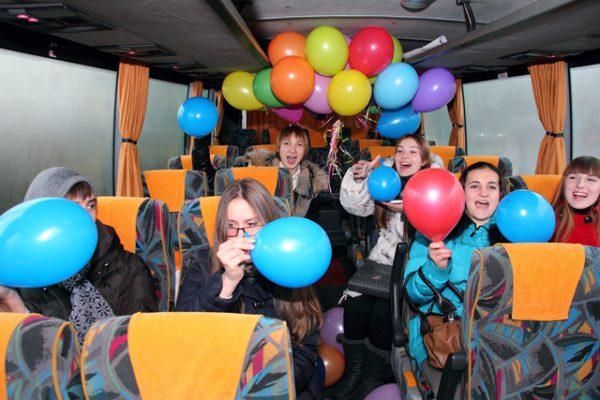 Автобус на День рождения Волжский