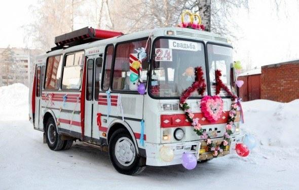 Автобус на свадьбу Волжский