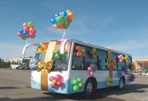Заказать автобус на свадьбу в Волгограде